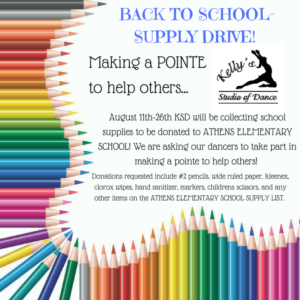 BACK TO SCHOOL-SUPPLY DRIVE! [24668]